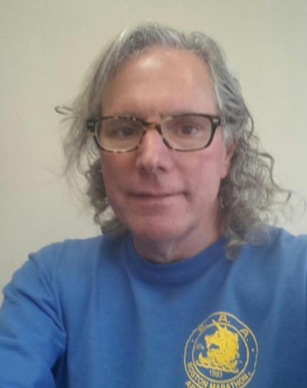 Wearing my 1993 Boston Marathon Shirt
